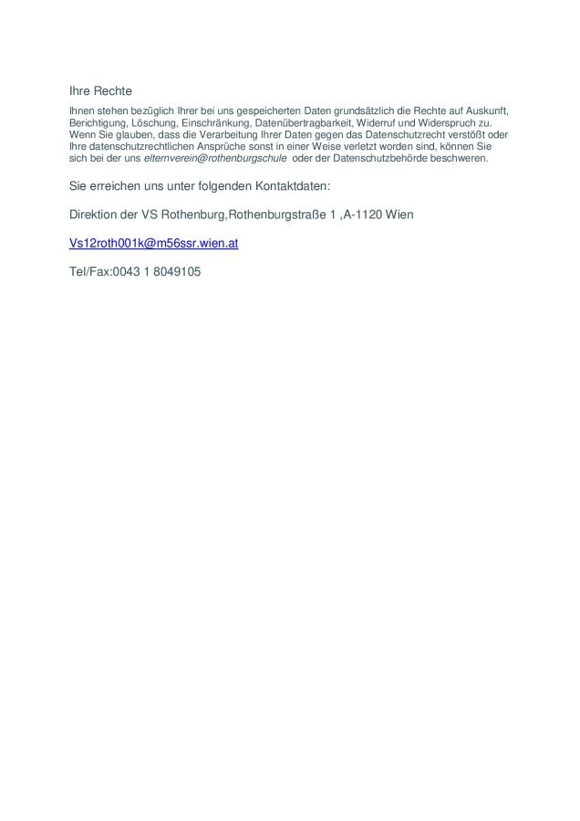 2 DSGVO Erklärung zur Informationspflicht